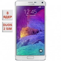 Samsung Galaxy Note 4 Duos 2 sim White 100% копия