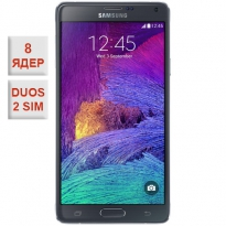 Samsung Galaxy Note 4 Duos 2 sim Black 100% копия