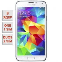 Samsung Galaxy S5 Duos 8 Core White 100% копия