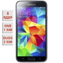 Samsung Galaxy S5 Duos 8 Core Black 100% копия