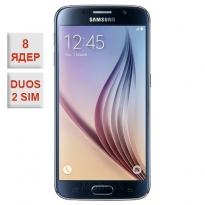 Samsung Galaxy S6 Duos Octa-Core Black 100% копия