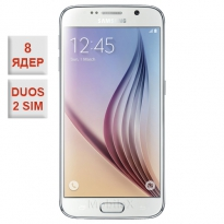 Samsung Galaxy S6 Duos Octa-Core White 100% копия
