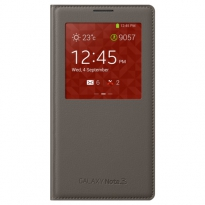 Чехол S-View Cover Samsung Galaxy Note 3 gray